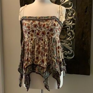 American Eagle Outfitters floral sun top sz XL